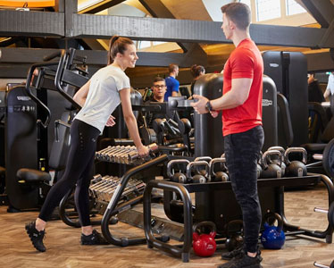 Fitness Landing page - Gym