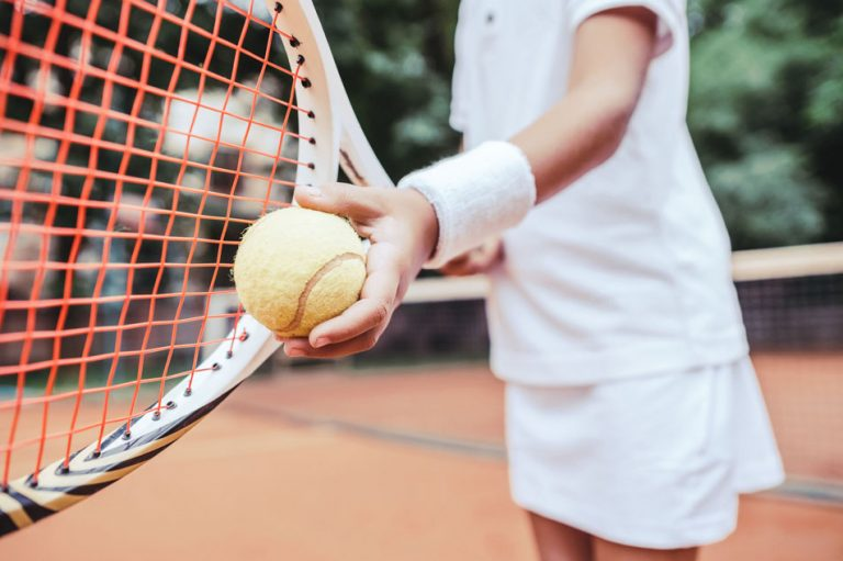 Junior Tennis - Co-ordination skills